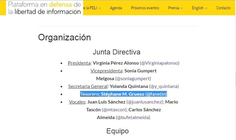 El Subdirector de Eldiario.es formó parte de la cúpula de una organización ligada a la Fundación Soros