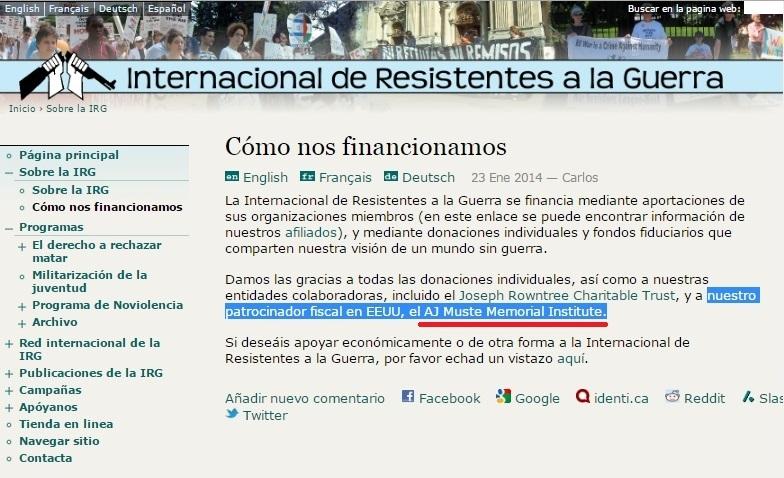COINTELPRO EN ESPAÑA: EL ANTIMILITARISMO Y LA DESOBEDIENCIA CIVIL AL ...