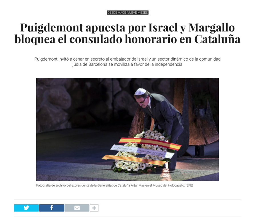INDEPENDENCIA DE CATALUÑA Y LA ELITE EN LA SOMBRA